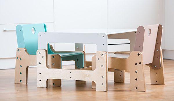 Rostoucí židle a stůl mimimo. Pro děti již od 6 měsíců... #RostouciNabytek #nabytek #deti #zidle #DetskyNabytek #mimimo #detskypokoj