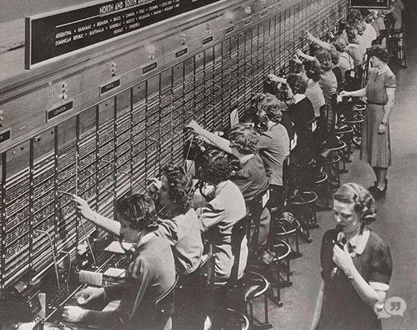 telefoon-verbindsters