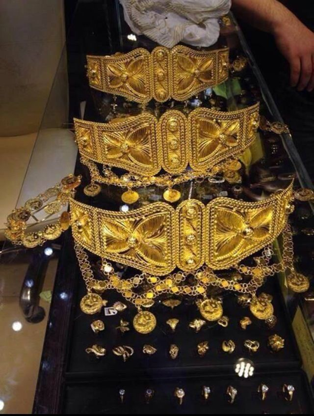 kurdish belt yes this is all real gold you wear at the