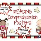 Do you have a Hollywood theme classroom? These reading comprehension posters will be a wonderful addition to your room. The posters include: *Poppi...