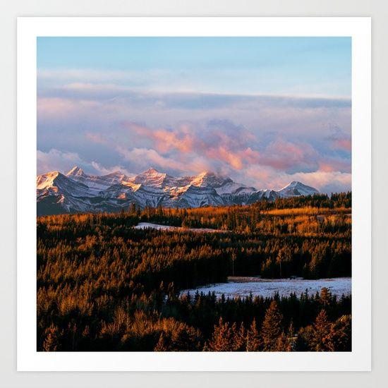 Banff, Canada, Alberta, spring...