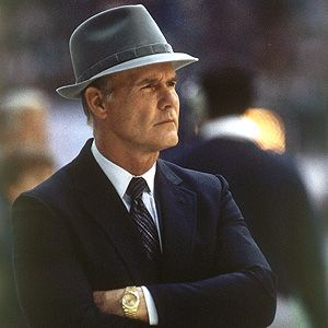 Tom Landry- One of the all time greats!