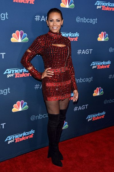 "Melanie Brown Photos Photos - TV Personality Mel B attends NBC's ""America's Got Talent"" Season 11 Live Show at Dolby Theatre on August 2, 2016 in Hollywood, California. - NBC's 'America's Got Talent' Season 11 Live Show"