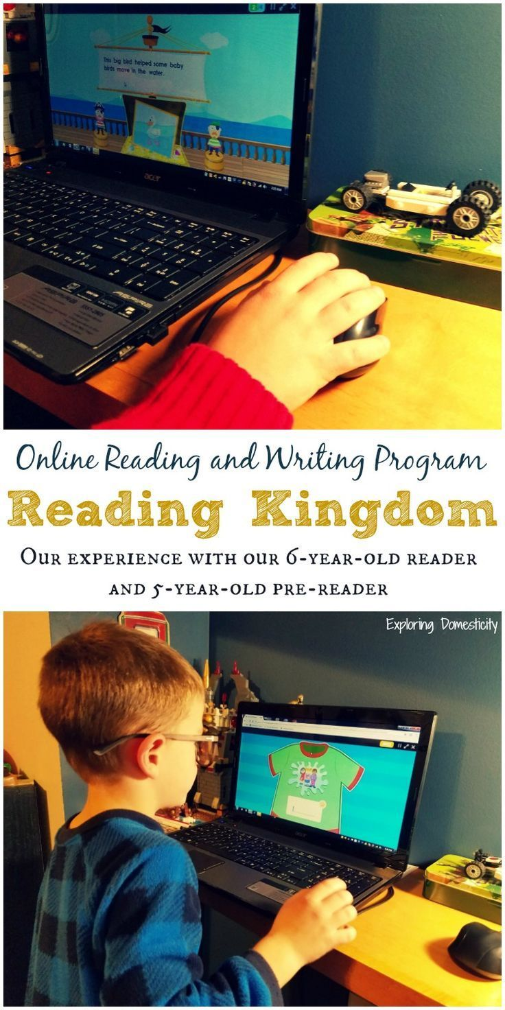Online Reading and Writing Program - Reading Kingdom - Experience with 6-year-old reader and 5-year-old pre-reader | Online Reading Program | parenting | online learning | homeschooling | review | ad