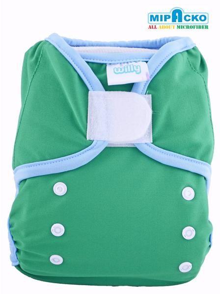 Willy Cloth Diaper Cover Adalah Popok Kain made in Indonesia dan di buat oleh PT. Mipacko Farrela. Willy Cloth Diaper Cover di buat menggunakan bahan berkualitas yaitu lapisan outer dari kain Polyester PUL (polyurethane laminated) yang waterproof Speksifikasi Bahan : Outer : Polyester PUL (polyurethane laminate) Tab : Velcro dan Kancing Ukuran : One Size  Yaitu memiliki kancing pengatur ukuran S/M/L                Jadi bisa di gunakan untuk bayi baru lahir sampai dengan maksimal…