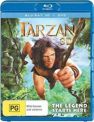 #Tarzan (3d #blu-ray/dvd) #(2013) - #blu-ray - mark deklin - family - new,  View more on the LINK: http://www.zeppy.io/product/gb/2/181785031477/