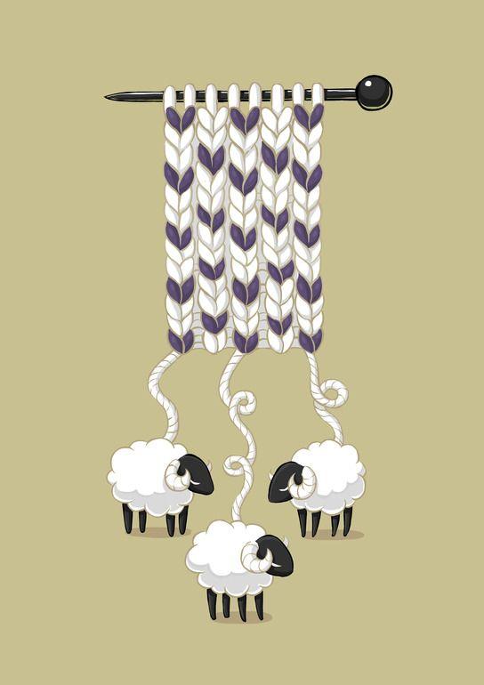 "Saatchi Online Artist: Indrė Bankauskaitė; Painting, Digital ""Wool Scarf"""