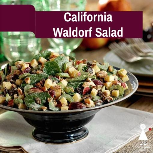 California Waldorf Salad Recipe   How to Make Waldorf Salad