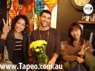 Happy customers at tapeo :) Join us today for lunch at 82 Redfern street, Redfern NSW and check our great meals at http://www.Tapeo.com.au #tapeo #tapeoredfern #sydney #tapeocafe #tapeosydney sydneyrestaurants