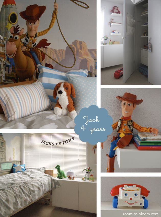 Jack's Toy Story themed room