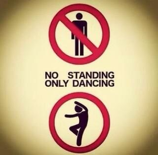 Only dancing!