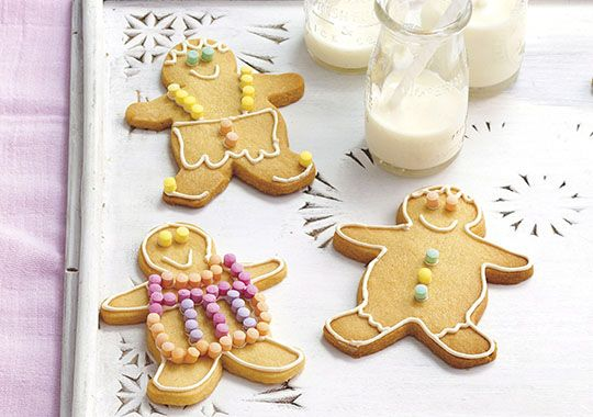 Wrap these cute cookies in cellophane and tie with a festive ribbon as a great gift for family and friends!