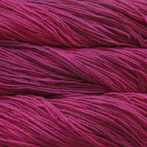 MALABRIGO YARN in Geranio is just the pink for my 2nd daughter! The Stolen Hearts Poncho will look divine in this shade!