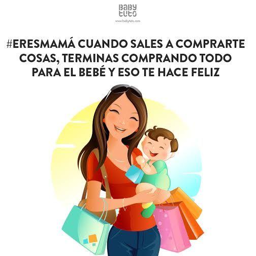 ¡Saliste a comprar una cartera y regresaste con las manos llenas de bolsas con cosas lindas para tu bebé! https://www.babytuto.com