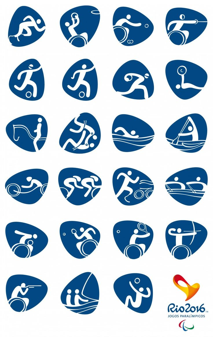the rio 2016 organizing committee recently unveiled the pictograms for the next olympic games and paralympic games.