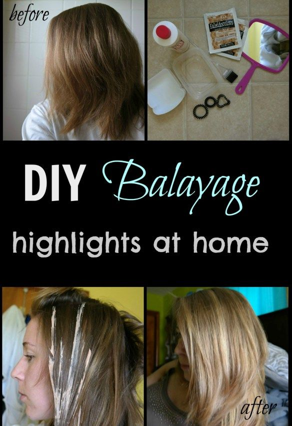 This DIY Balayage tutorial is easy to do at home and cost me less than 15$! Frugal way to get your summer highlights