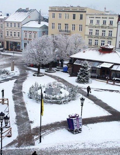 Wejherowo in Winter Poland