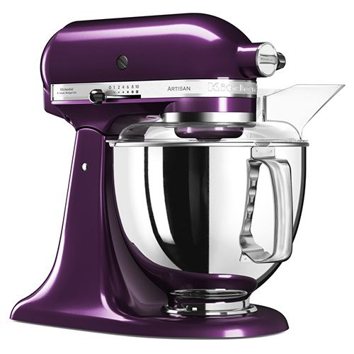 KitchenAid Artisan Plumberry Food Mixer <span style='color: #ff0000;'>With FREE Gifts</span>