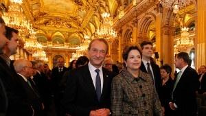 Encontro com prefeito de Paris Paris - FR, 12/12/2012. Presidenta Dilma Rousseff, durante encontro com o prefeito de Paris, Senhor Bertrand Delanoè¨. Foto Roberto Stuckert Filho/PR