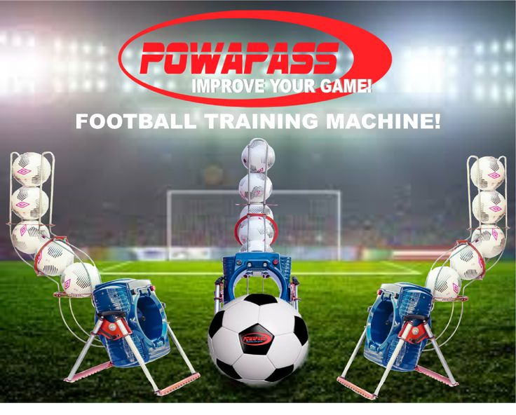 New look Powapass Football Training Machine. Find out more @ www.powapass.com  #soccer #football #sports #players #goals #keepers #drills #training #coaches #ball #fitness