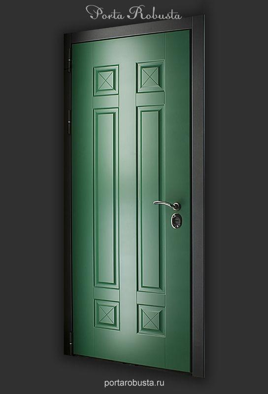 Элитная металлическая дверь в квартиру на заказ в Москве Evolution Colors