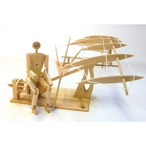 Da Vinci Ornithopter Model | Krinkle Gifts | Kids gift idea. | Wooden toy | Build yourself
