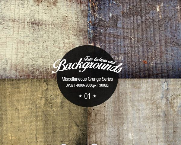 Whether you want a grunge look for web design or print designs, these free textures will help you. We are presenting 20 Free Grunge Texture Packs. Go ahead and grab them all.