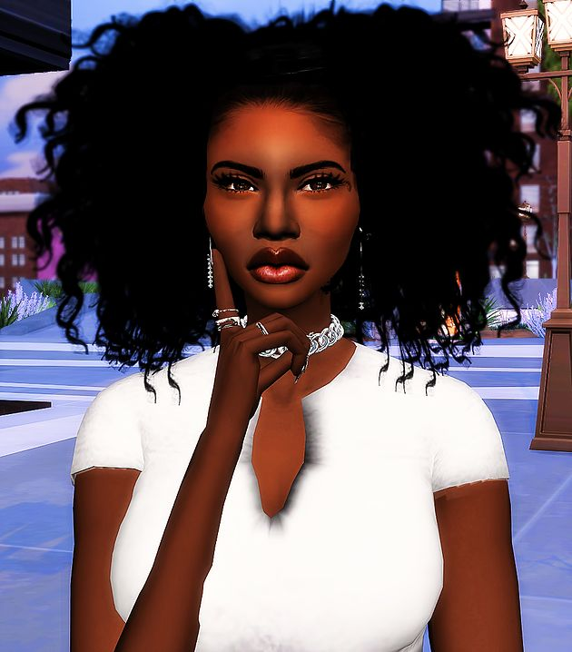 Sims 4 Hairstyles: 79 Best The Sims 4 Black Hairstyles Images On Pinterest