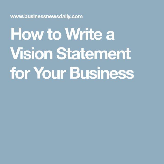 De 25+ bedste idéer inden for Vision statement på Pinterest - statement analysis