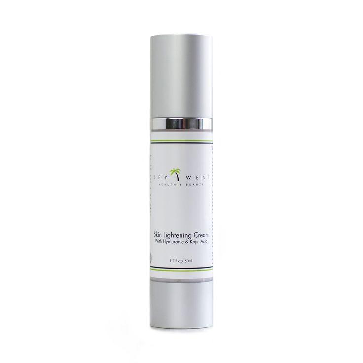 BEST Natural Skin Lightening Cream With Glycolic, Kojic  Hyaluronic Acid - No Harmful Hydroquinone Mercury Or Parabens - 97% Natural  72% Organic - Large 1.7 OZ Size - Safe Skin Whitening Lotion For Light Or Dark Skin - Men  Women