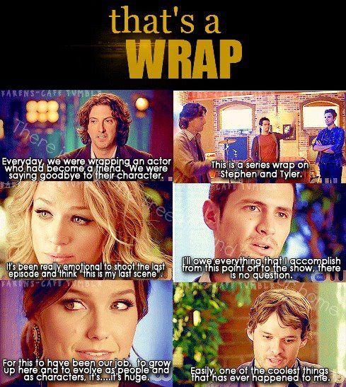 thats a wrap :(