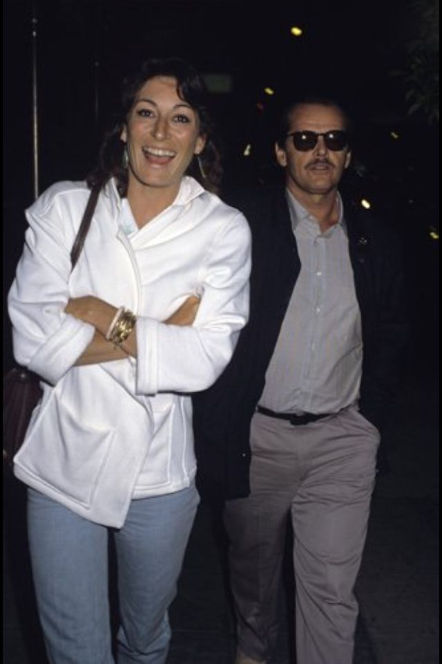 Jack Nicholson And Anjelica Huston 2014