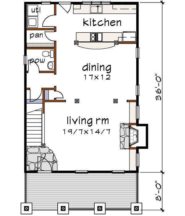 43 best narrow lot house plans images on pinterest tiny for 4 plex plans narrow lot