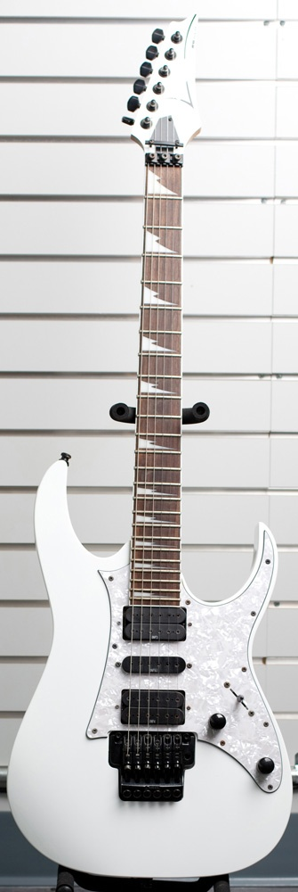 White Ibanez Electric Guitar http://www.pawnri.com/