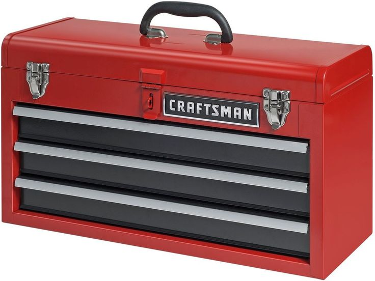 Mobile Tool Box Chest Portable Storage Garage Home Steel Toolbox Drawer Lock Lid #MobileToolBox
