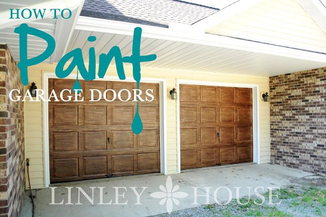 Hell yeah! We were going to get wooden garage doors when we paint the house. Maybe we wont have to :D