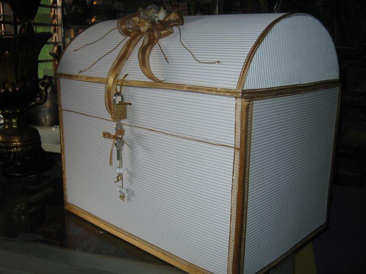 Moldes de cofres de carton corrugado - Imagui