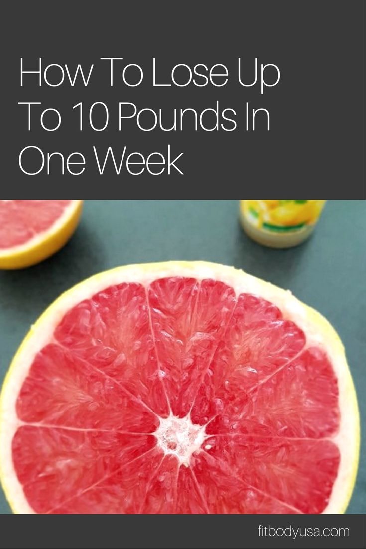 Lose Up To 10 Pounds In One Week - Egg Grapefruit Diet
