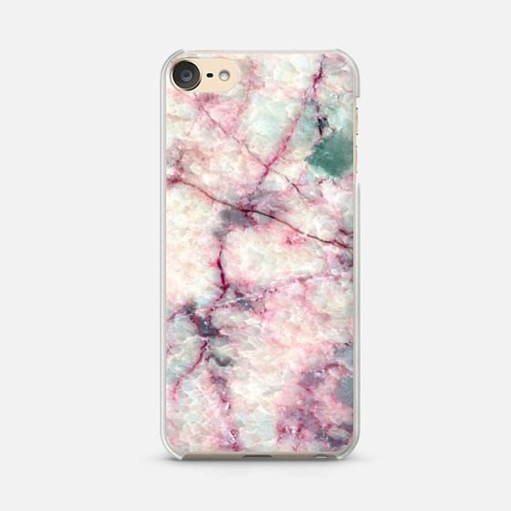 Casetify iPod Touch 6 Classic Snap Case - MARBLE CRYSTALS by Overstand Originals