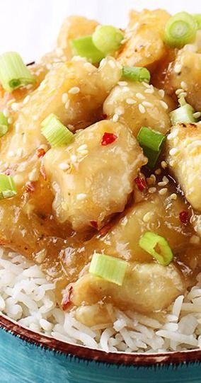 Chinese Honey Garlic Chicken - Creme De La Crumb