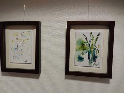 白樺と竹 by Hannele Rajala