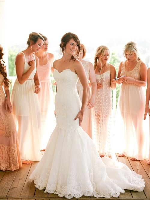 EnzoaniRealBride In Dakota Wedding Dress Andrew Morton Photography