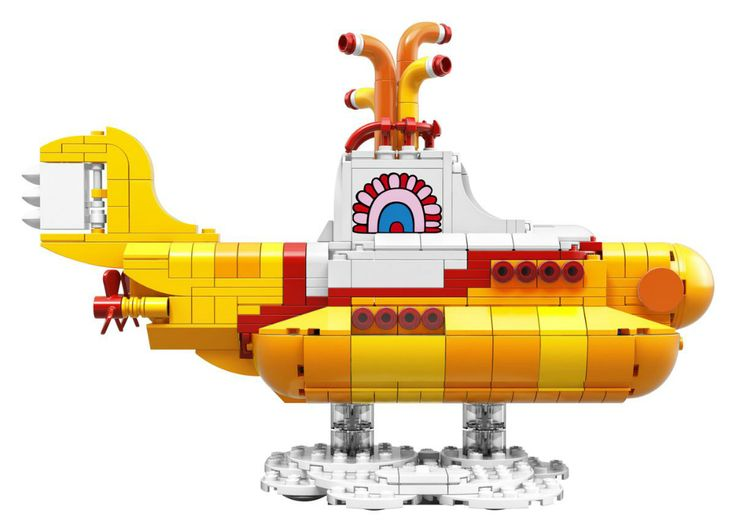 """On va pouvoir construire le """"Yellow Submarine"""" des Beatles en Lego"""
