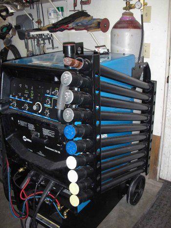 Miller - Welding Projects - Idea Gallery - Filler Rod Storage
