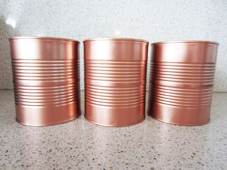 copper rose gold spray paint rose gold spray paint diy copper cans. Black Bedroom Furniture Sets. Home Design Ideas