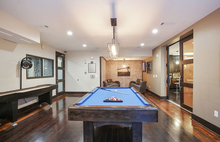 Who's up for a game of pool? Hang out with friends or fellow residents in our clubhouse! Just one of many amenities here at #ArriveWestEnd! #Texas #Apartments