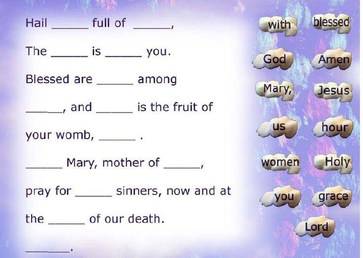 Hail Mary Prayer Activities | Hail_Mary_copy.jpg