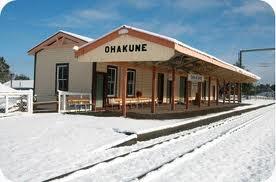 Train station at Ohakune