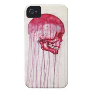Colourful Skull iPhone 4 Case by Apple of my Odd Eye #art #iphone