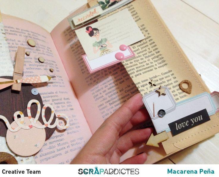 Crea & Scrapea: Inspiración para nuestro Project Book - RETO 12 MESES, 1 PROJECT BOOK
